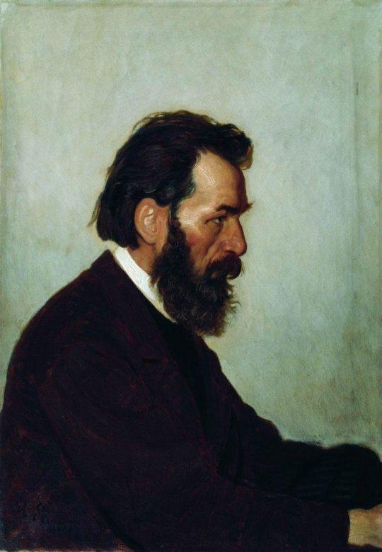 Портрет А.И.Шевцова. 1869