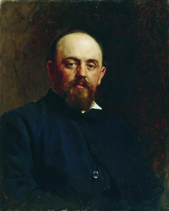 Портрет С.И.Мамонтова. 1878