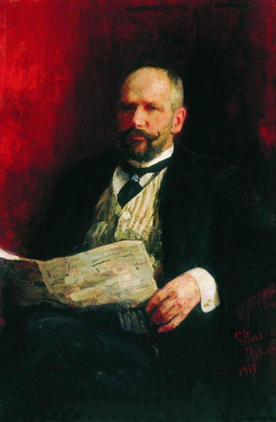 Портрет П.А.Столыпина. 1910