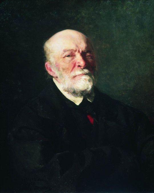 Портрет хирурга Н.И.Пирогова. 1881