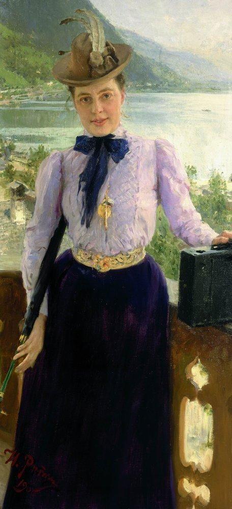 Портрет Наталии Борисовны Нордман. 1900