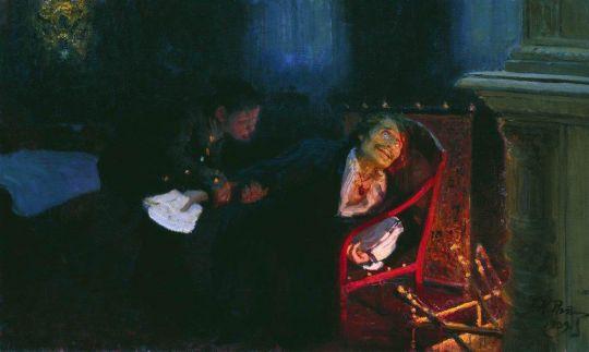 Самосожжение Гоголя. 1909
