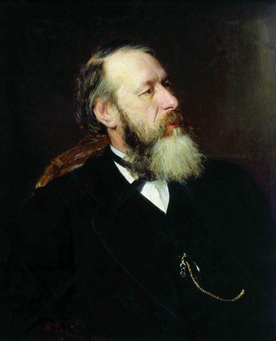 Портрет критика В.В.Стасова. 1873
