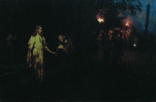Христос в Гефсиманском саду. Конец 1880-х