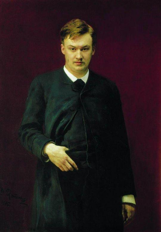 Портрет композитора А.К.Глазунова. 1887
