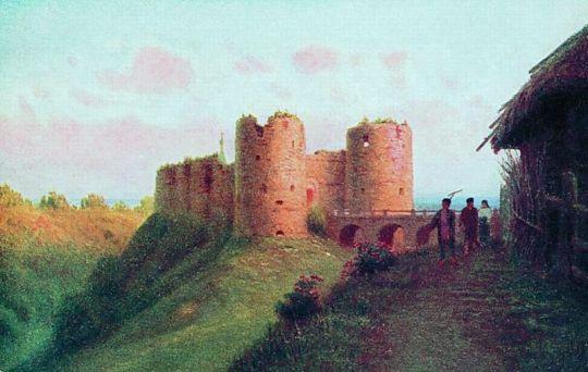 Крепость Копорье. Открытка