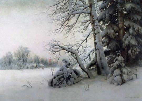 Утро зимой. 1901 160х221