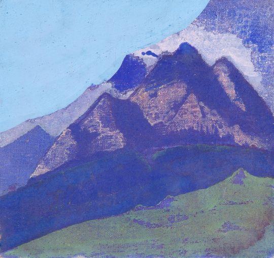 Гималаи. Этюд 8