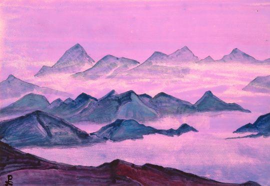 Гималаи. Этюд