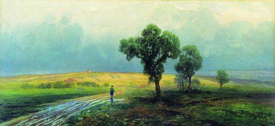 После проливного дождя. 1870