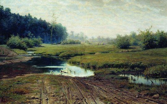 Летний день после дождя. 1881