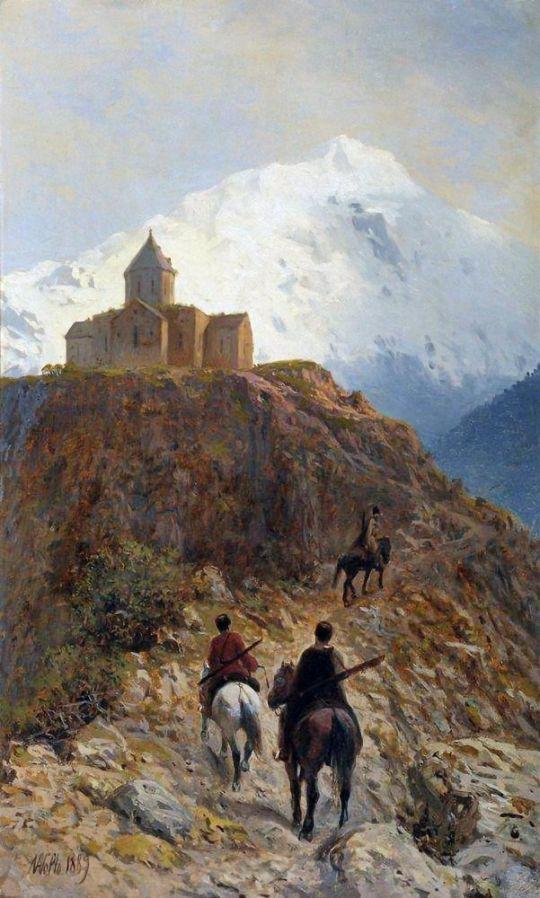Кавказский вид. 1889