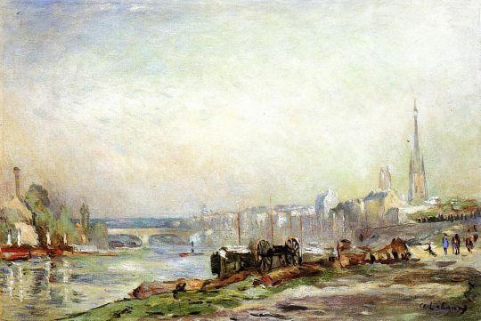 Руан, Сена и собор