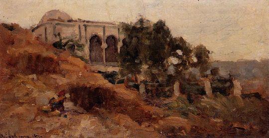 Мавританский дом в Алжире