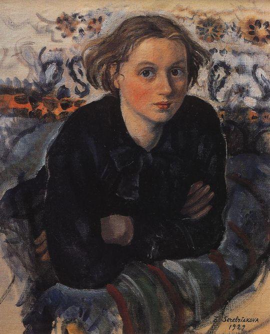 Портрет дочери Кати.