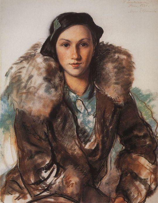Мария Бутакова, урожденная Евреинова.