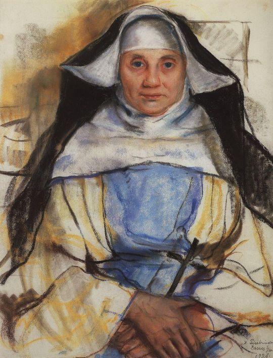 Монахиня из Кассиса.