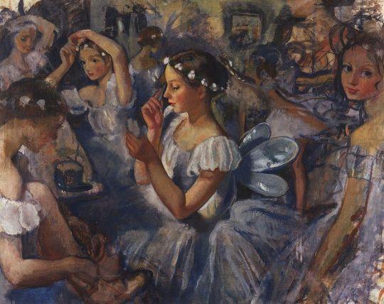 Девочки-сильфиды (Балет Шопениана).