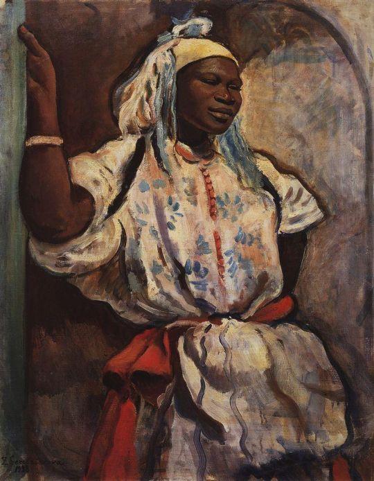 Марокканка в белом.
