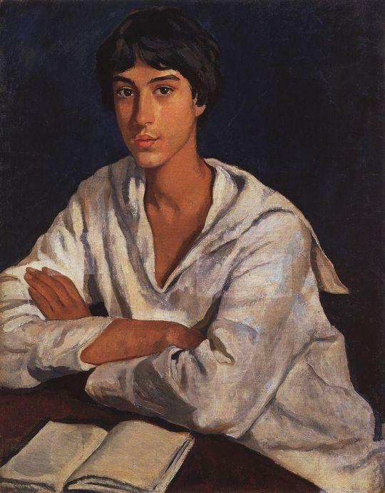 Портрет Е.И.Золотаревского в детстве.