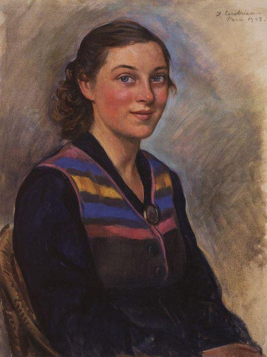 Портрет Ирины Заколодкиной.