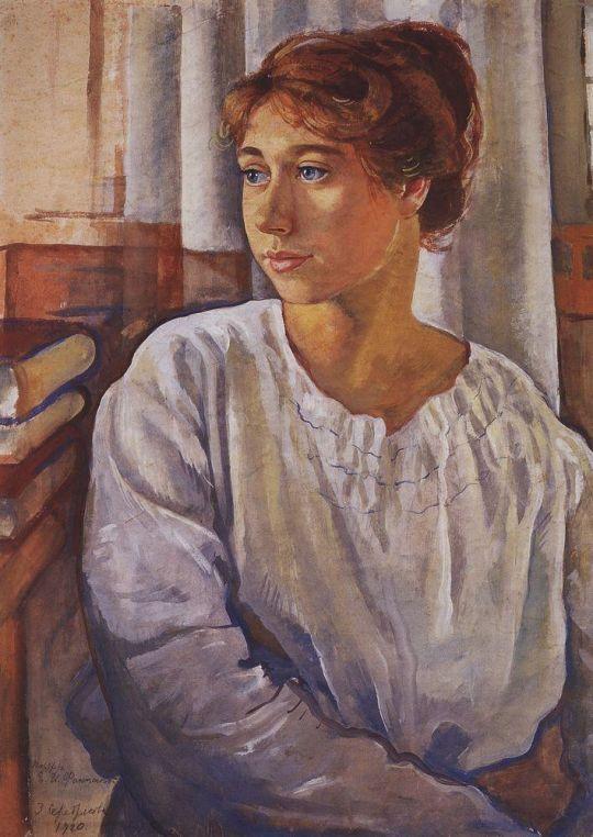 Портрет Е.И.Финогеновой.