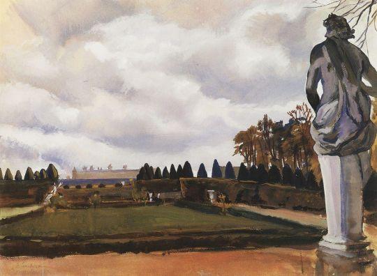 Версальский парк осенью.