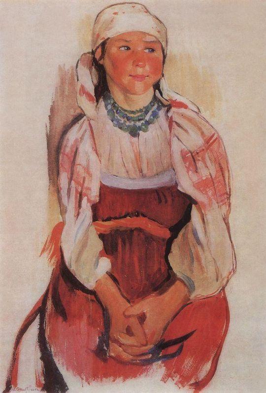 Молодуха (Мария Жегулина).