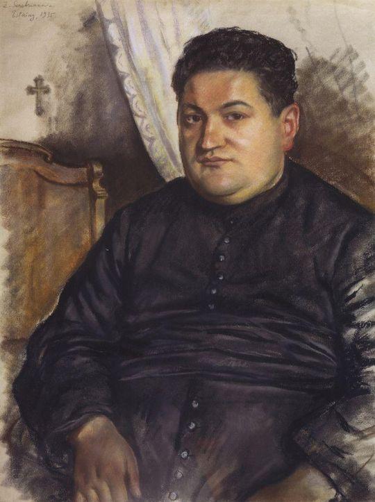 Портрет аббата. Эстен.
