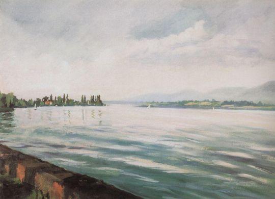 Женевское озеро.