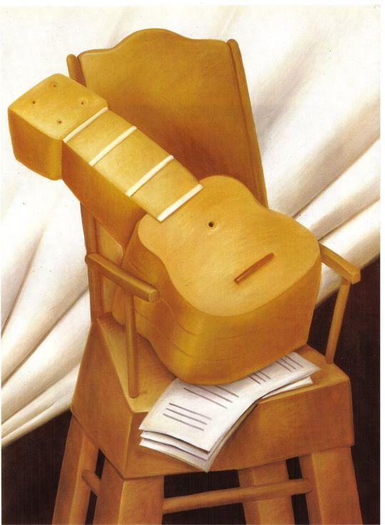 Гитара и стул