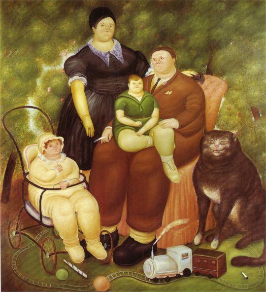 Семейная сцена