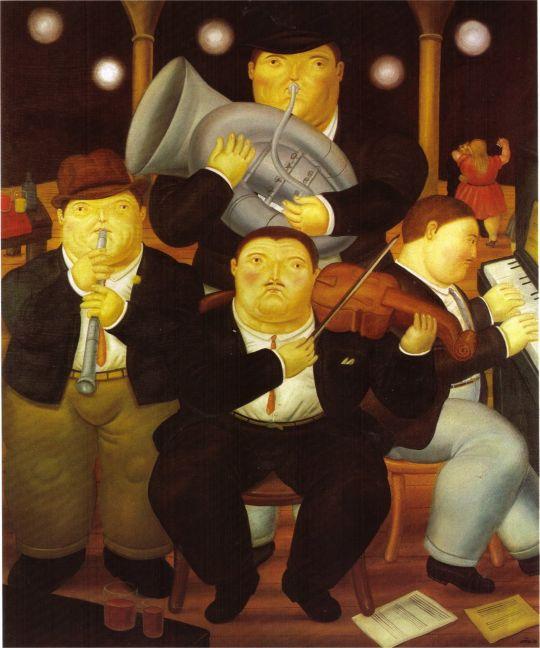 Четыре музыканта