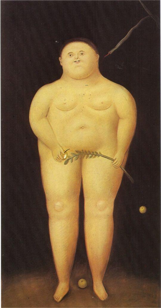 Адам и Ева(Адам)
