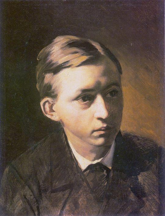 Портрет Н.А.Касаткина