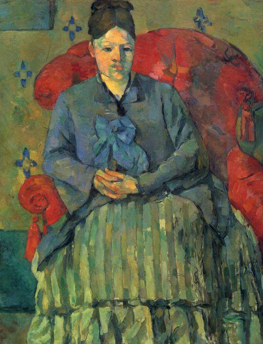 Мадам Сезанн в красном кресле
