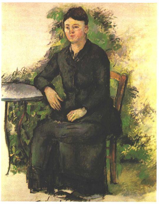 Мадам Сезанн в саду
