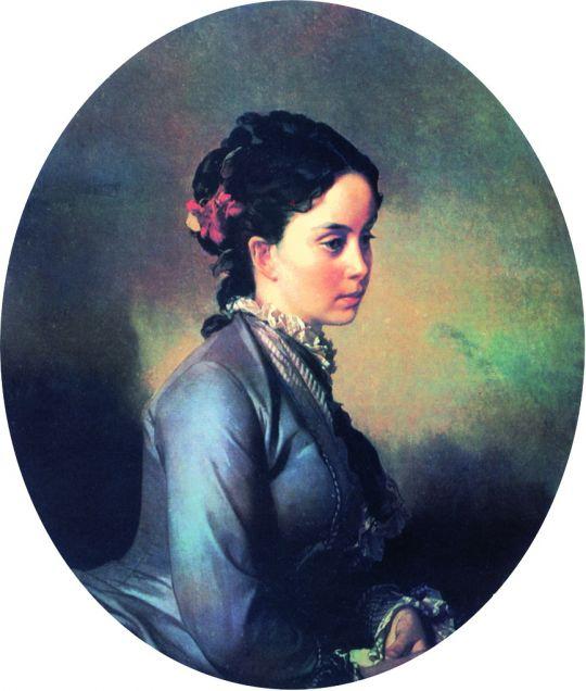 Женский портрет. 1880-е
