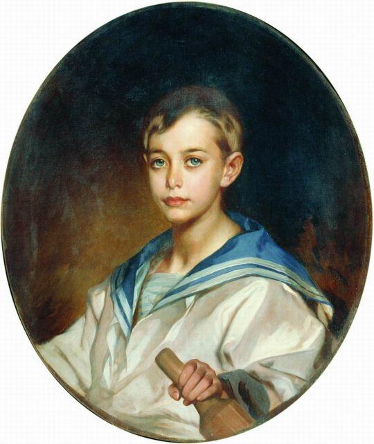 Портрет графа Б.С. Шереметева в детстве. 1880-е