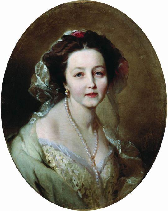 Портрет Е.Л. Ховриной. 1862