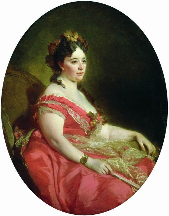 Портрет Губониной. 1870-е
