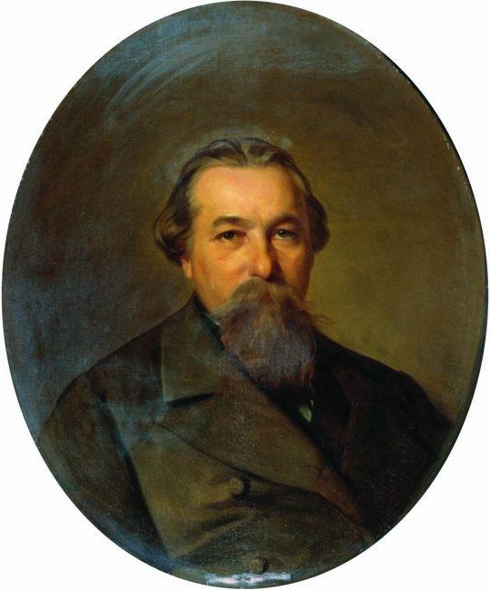Портрет Андрея Федоровича Карпова. 1886