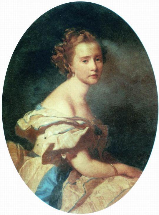 Портрет Е.Е. Муравьевой, рожденной Сафоновой. 1862