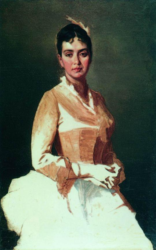 Портрет неизвестной. 1896