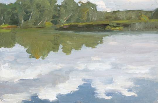 Озеро Удомля. 1912