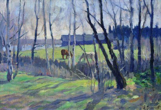 Ранняя весна. 1900-1910