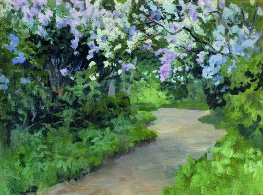 Сиреневая аллея. 1900-1910