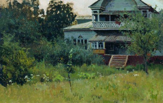 Усадьба летом. 1882