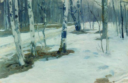 Зимний пейзаж. 1910