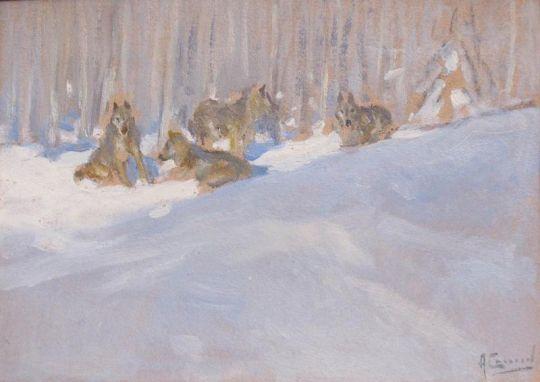Волки. 1912-1915